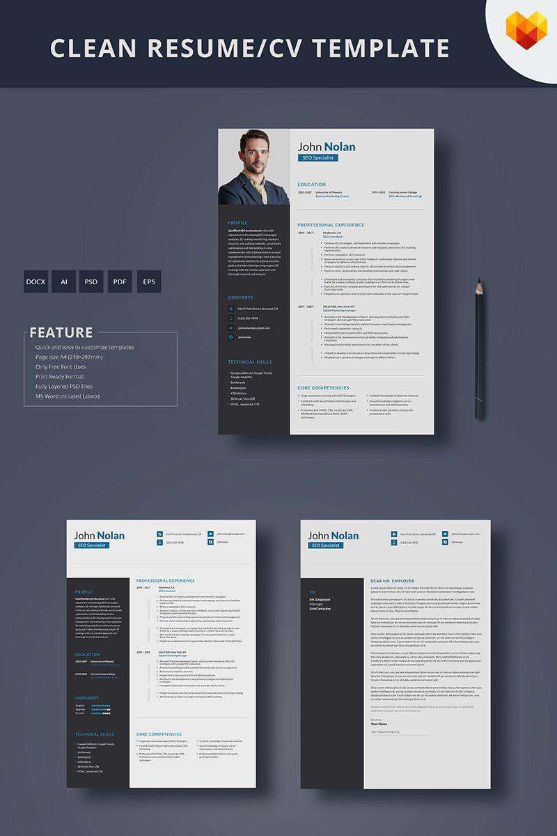 Seo Specialist Resume Seo Resume Cv Cvdesign Https Www Motocms Com Cv Builder Resume Template Seo Specialist Templates
