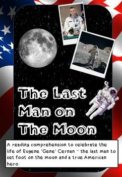 Eugene Cernan Last Man On The Moon Eugene Cernan Man On The Moon Astronaut