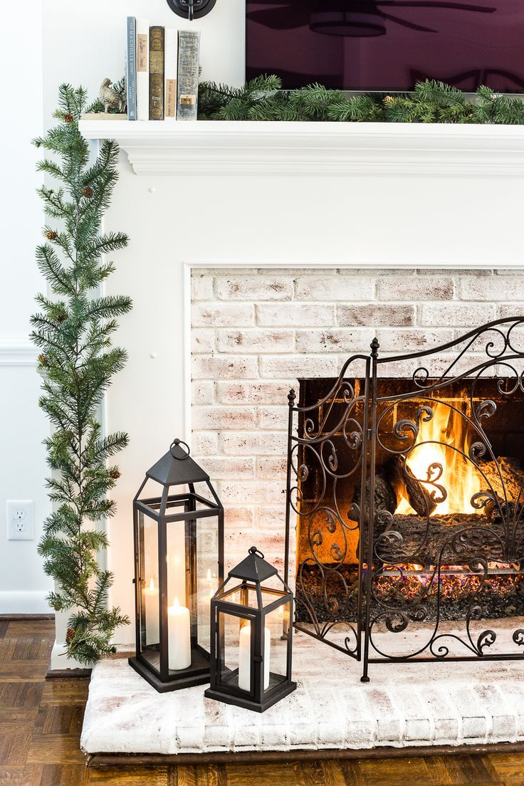 6 Ways To Make Your Home Cozy After Christmas Fireplace