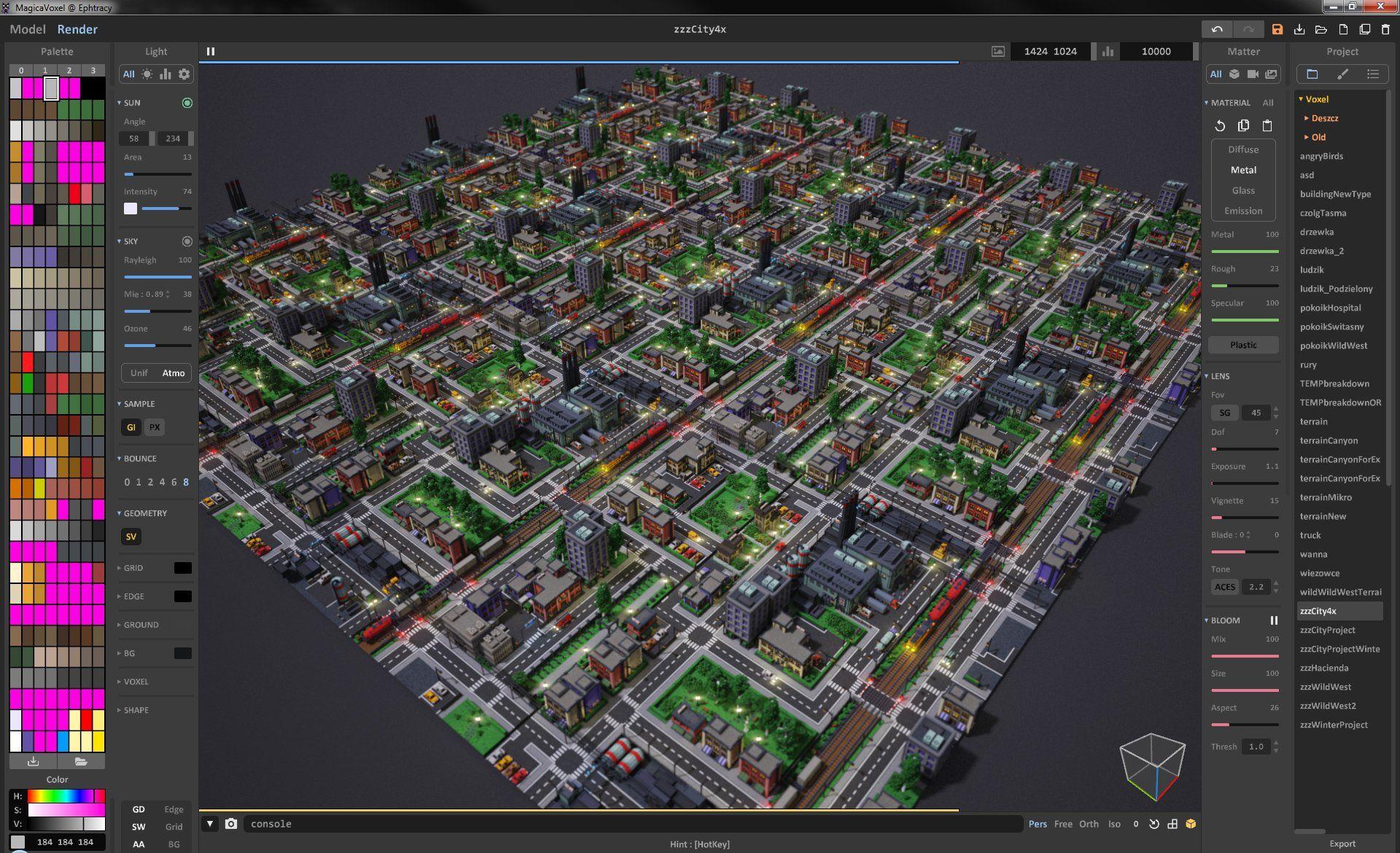 Ephtracy Ephtracy Twitter City Vibe Cg Artist City Photo