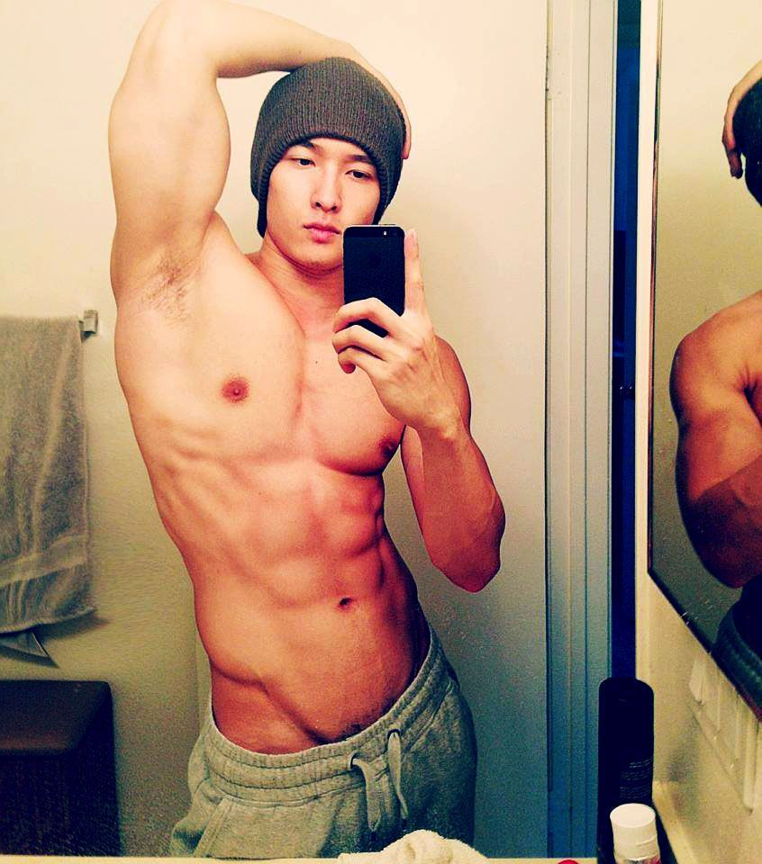 Hot Asian Guy Selfie
