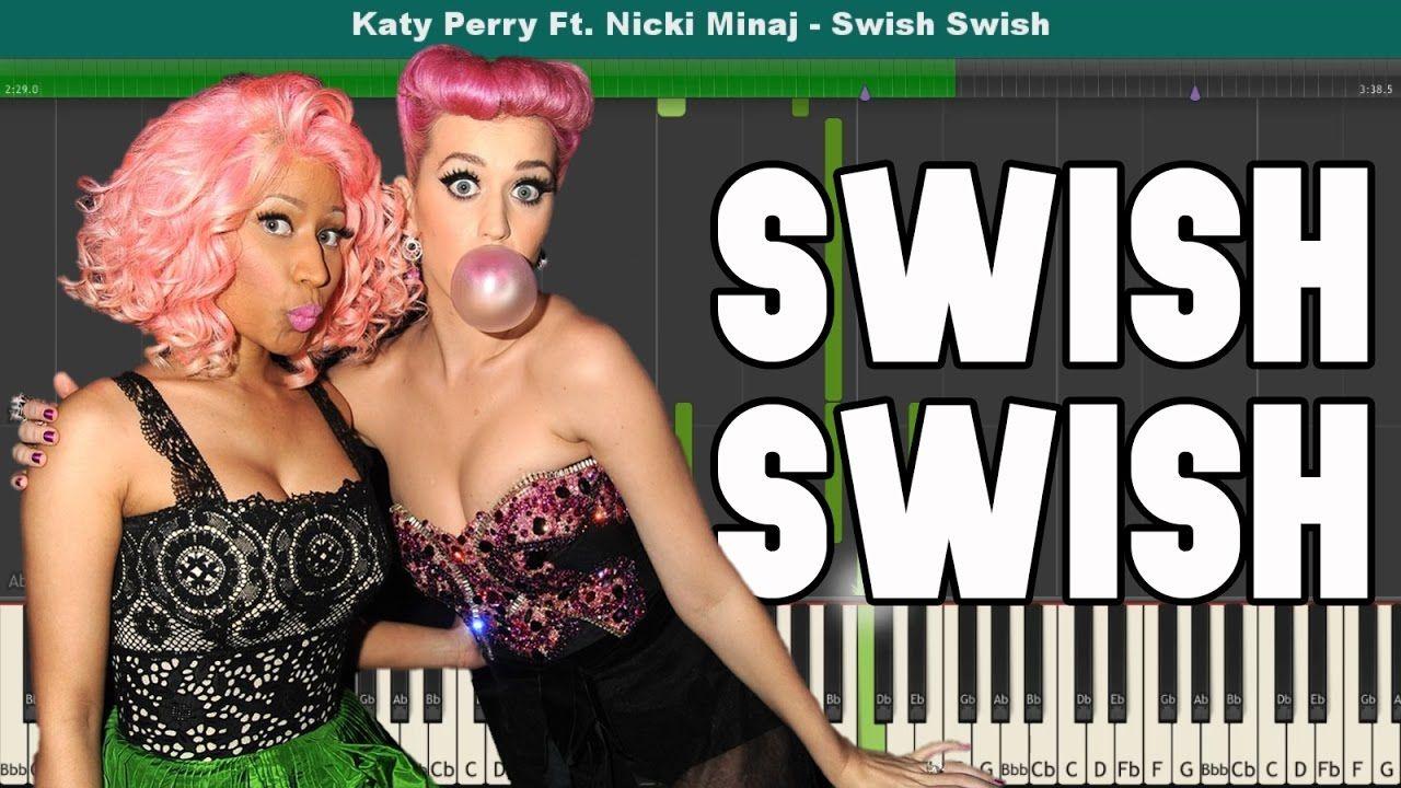 Swish Swish Piano Tutorial Free Sheet Music Katy Perry