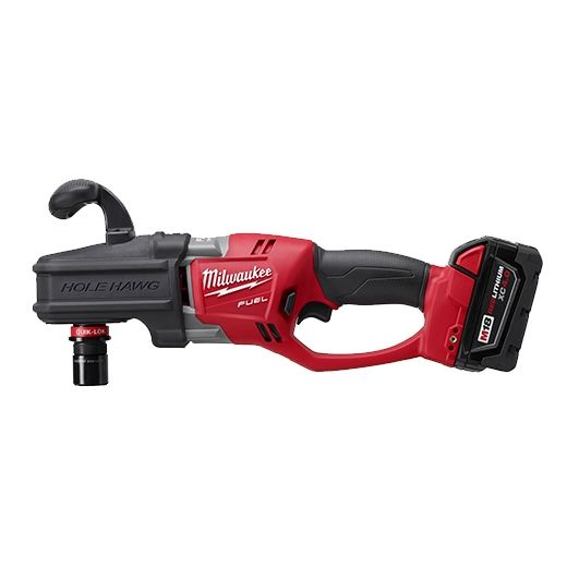 Milwaukee 2708 22 M18 Fuel Hole Hawg Right Angle Drill Kit W Quik Lok Angle Drill Drill Milwaukee Drill