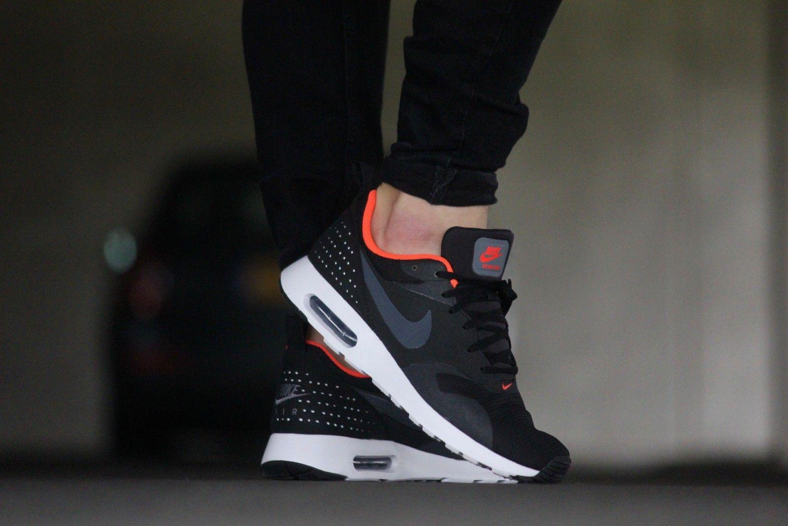 eac4cfdcdb Nike Air Max Tavas Black Dark Grey/ Crimson - 705149-008 | >>>NIKE ...