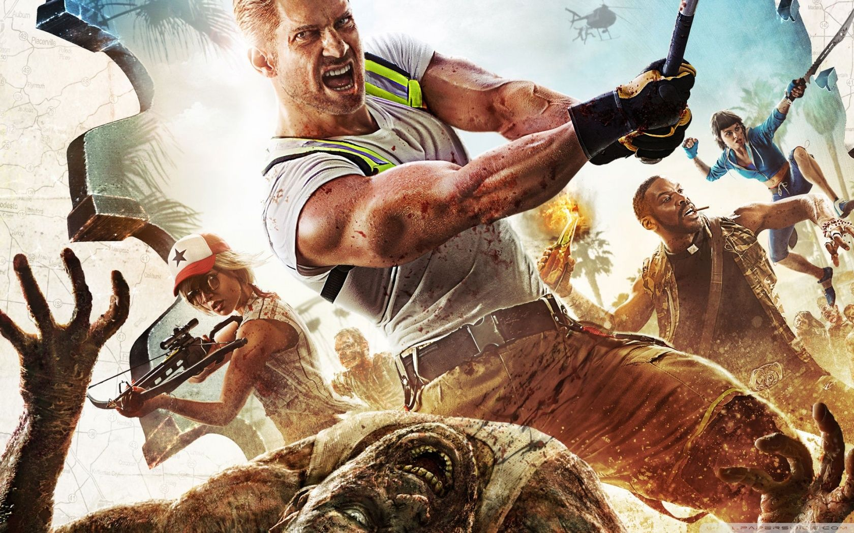 Dead Island 2 Hd Wallpapers Videojuegos Zombis Xbox One
