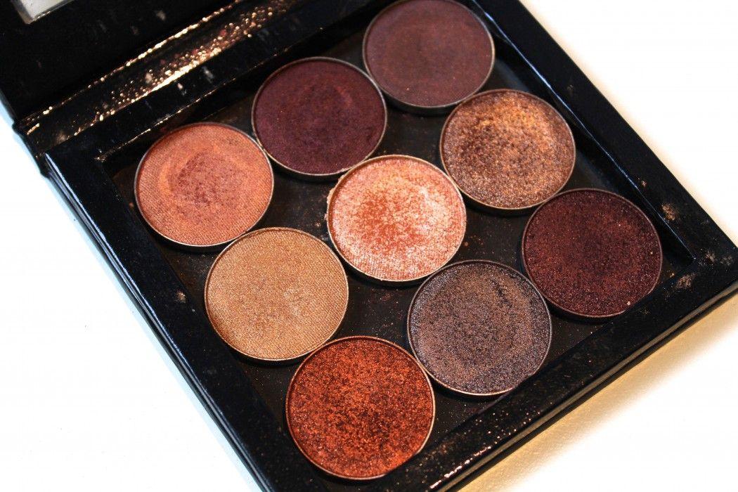Makeup Geek Eyeshadow (incl. Foiled) Swatches Makeup