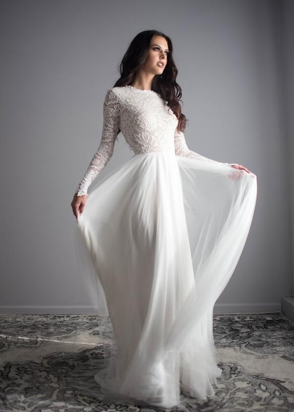 Zoey Scoop-Back Dress