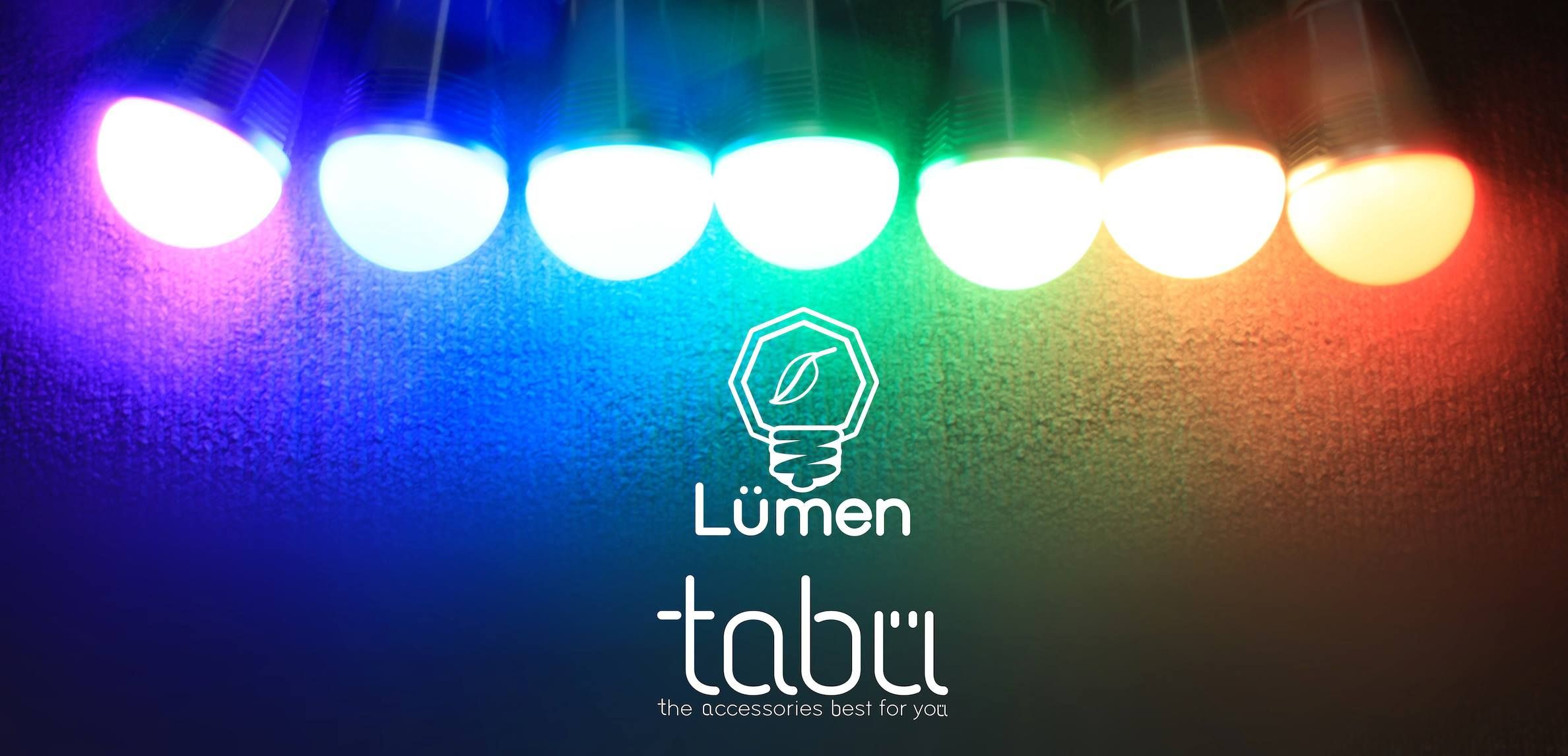 Control your light bulb from your phone. How cool is that?  Lumen Smartbulb by Tabu.   Soon will be available in selected Switch outlets. Stay tuned.