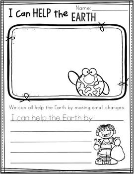 Earth Day Worksheet | FREE