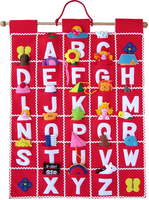 Abc Wall Hanging  Ruang Anak    Abc Wall Chart And