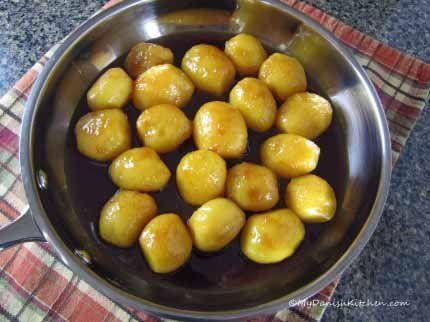 Brunede Kartofler (mydanishkitchen.com/) #brunedekartofler Brunede Kartofler (mydanishkitchen.com/) #brunedekartofler
