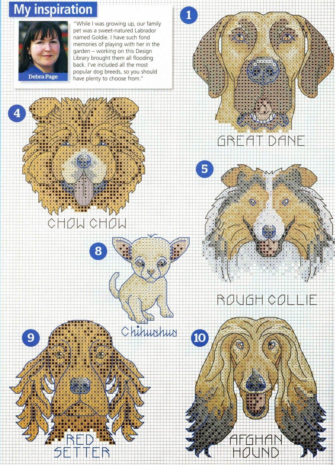 Pin de Brit Darington en Charted Designs - Part 1 | Pinterest ...