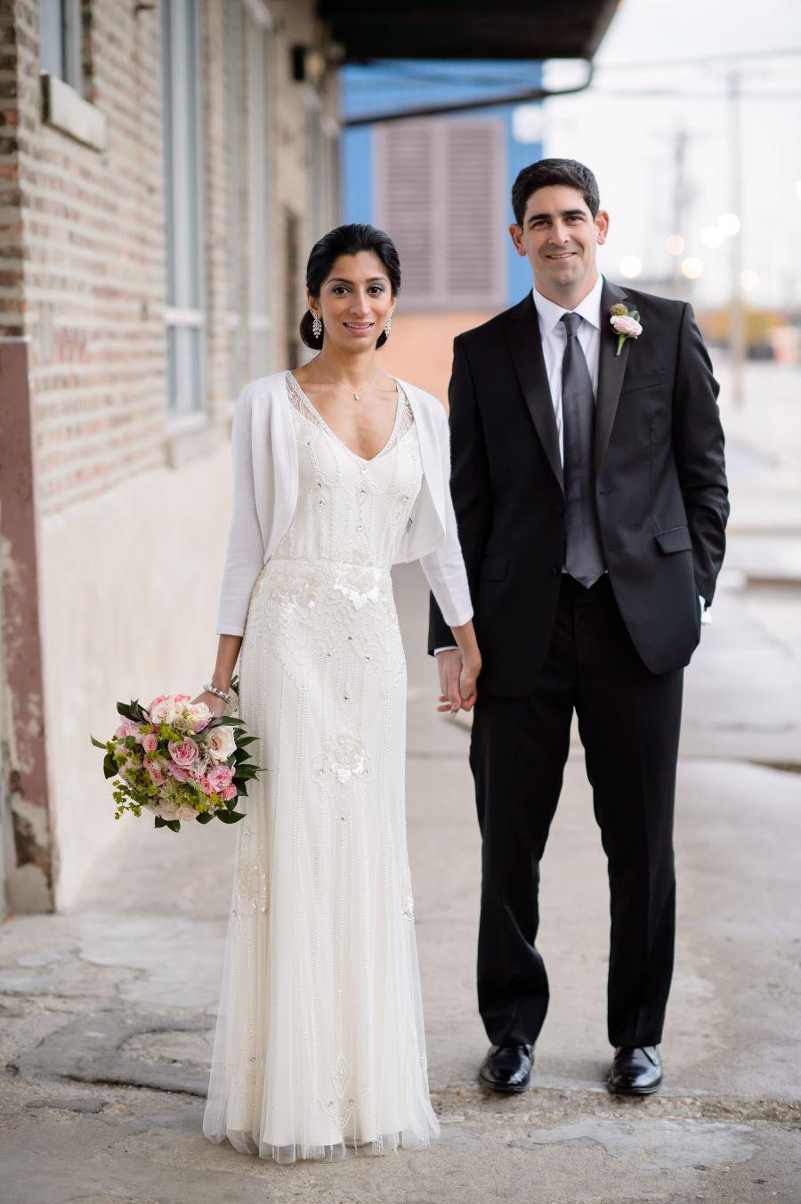 Chicago wedding dresses  Industrial Chic Chicago Wedding  WHAT A TREAT  Pinterest