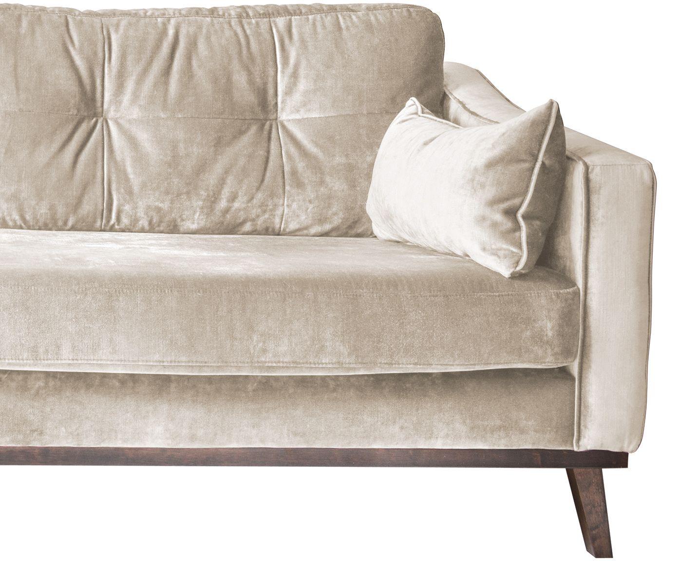 samt sofa almana 3 sitzer. Black Bedroom Furniture Sets. Home Design Ideas
