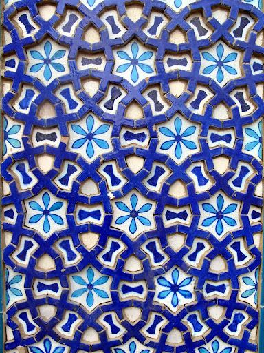 Kashi Tiles Pattern In 2019 Geometric Art Pottery