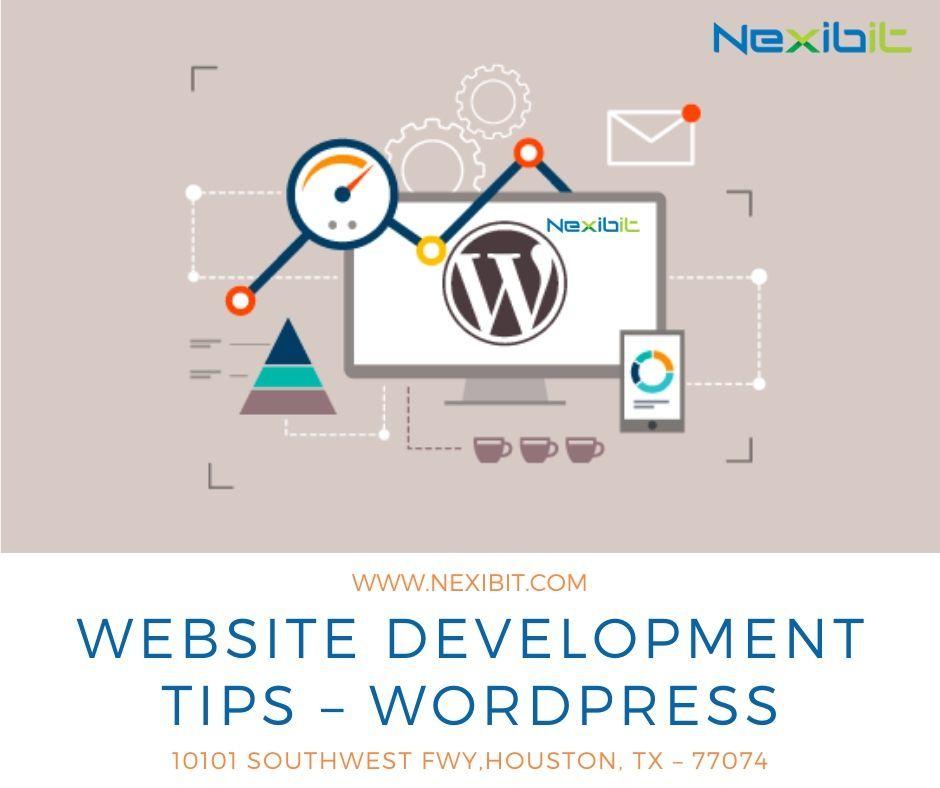 Website Development Tips Wordpress Website Development Web Development Company Ecommerce Website Development