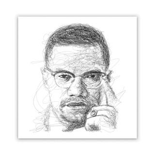 Nyorat Nyoret Foto Dan Video Instagram Scribble Art Instagram Malcolm X