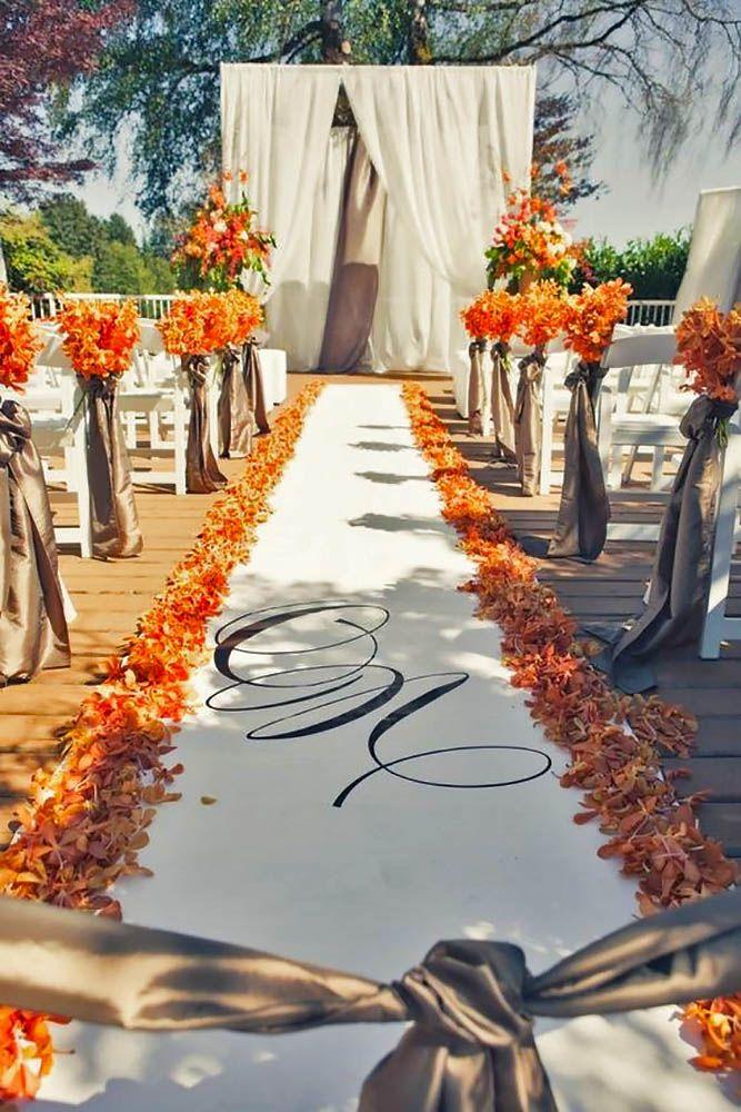 30 Beautiful Wedding Aisle Decoration Ideas Wedding Forward Wedding Aisle Decorations Fall Wedding Decorations Canada Weddings