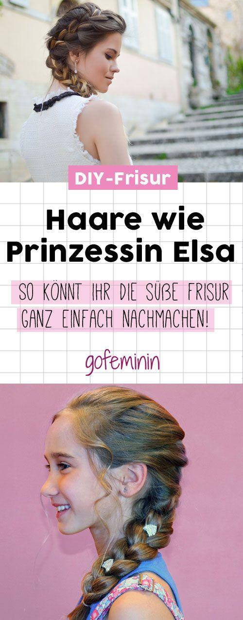 Eure Tochter Ist Verruckt Nach Der Frisur Von Prinzessin Elsa Mit