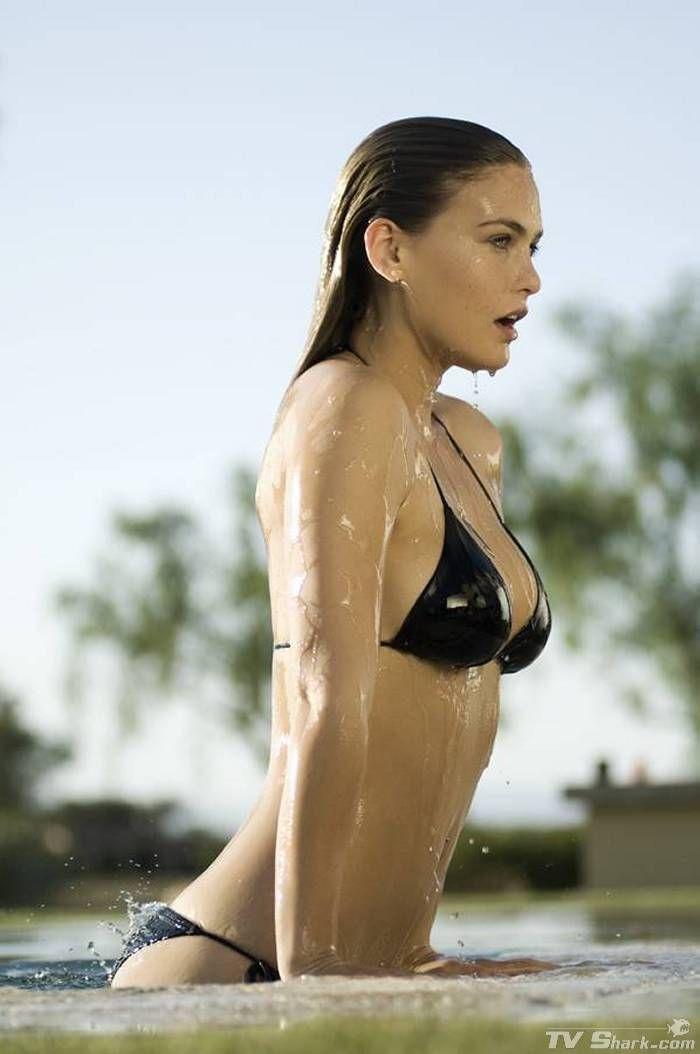 Bar rafaeli black bikini
