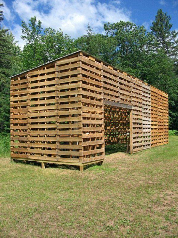 Europaletten im Garten verwenden - 25 thematische Wohnideen für Sie ...