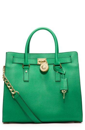 848fbb93f3c5 MK Hamilton Bag in Saffiano leather | Pretty in pink gorgeous in ...