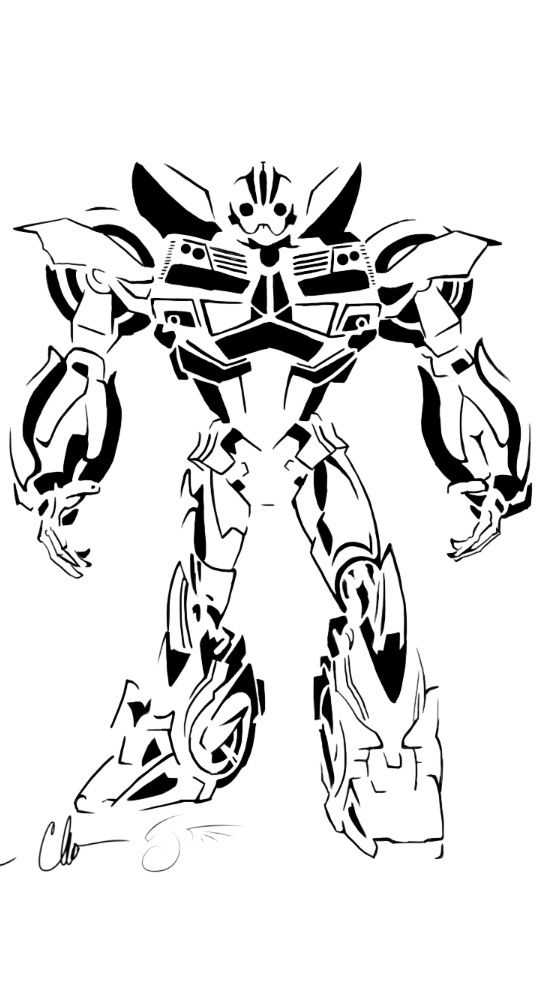 Bumblebee Stencil Http Dragongirl508 Deviantart Com Bee Coloring Pages Transformers Coloring Pages Coloring Pages