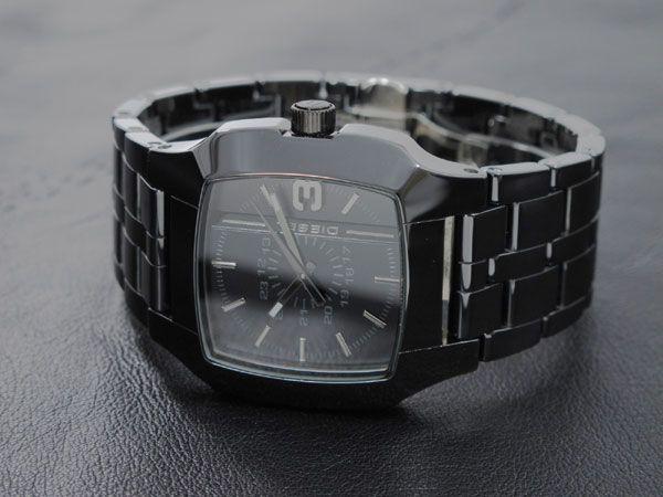 diesel mens advanced black analog ceramic watch dz1516 black diesel dz1422 black ceramic quartz sport men s watch square