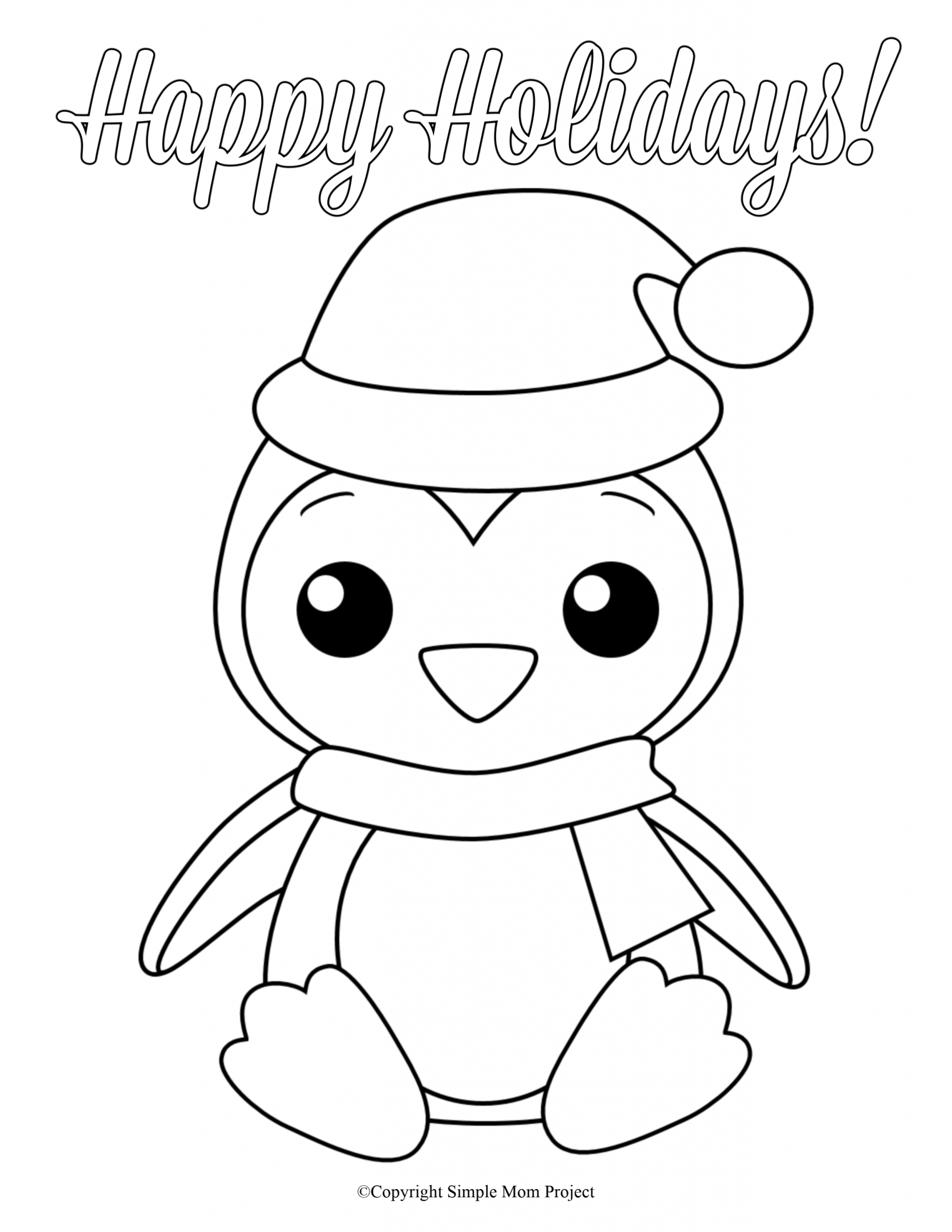 8 Free Printable Large Snowflake Templates Christmas Coloring Sheets Coloring Sheets For Kids Penguin Coloring Pages