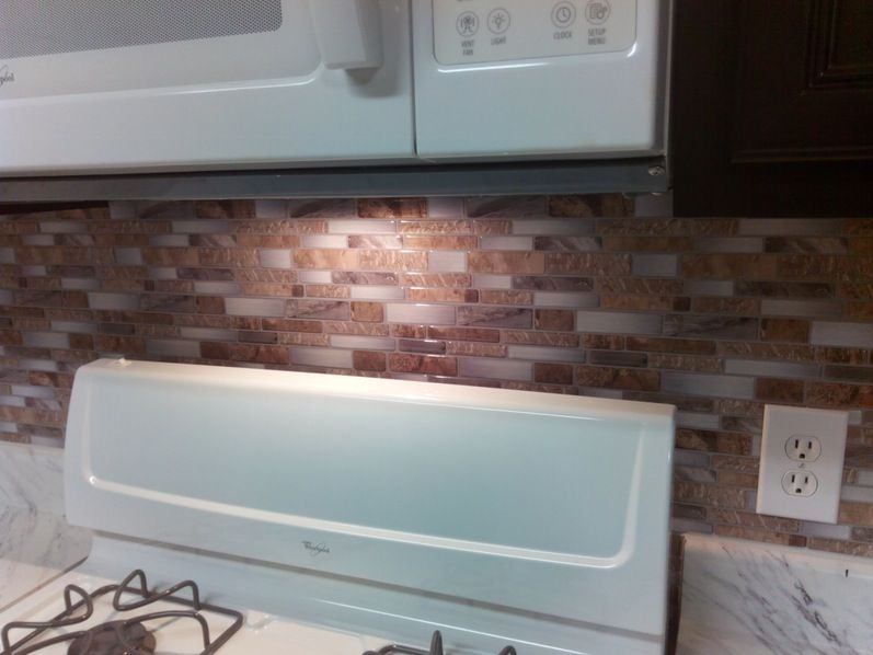 Awesome Walmart Backsplash Peel And Stick Self Adhesive Floor Home Interior And Landscaping Oversignezvosmurscom