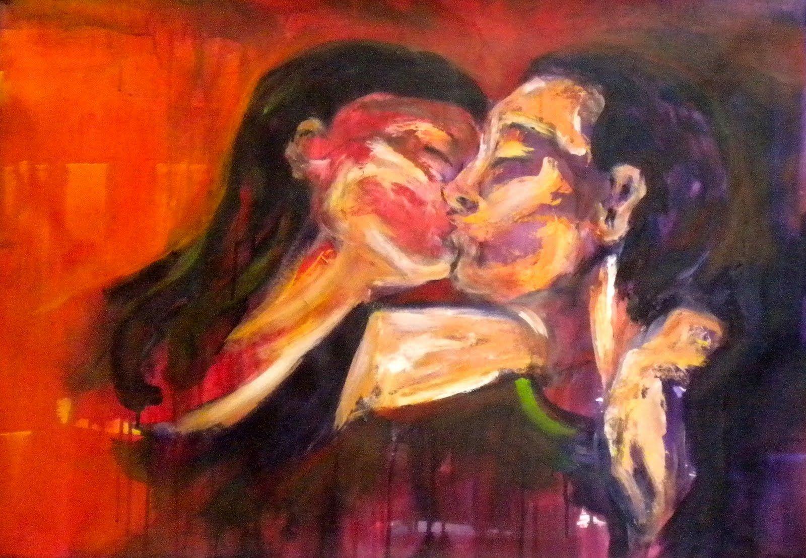 """Marta Ballesteros - Pinturas: Series: """"Abrazos"""" y """"Por qué te Quiero Tanto?"""""""