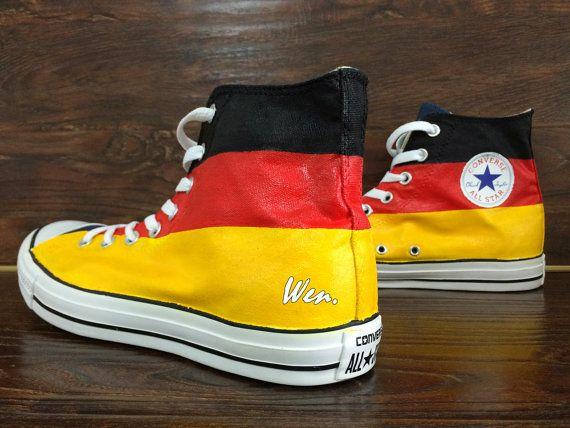 buty do separacji najlepsza wartość autoryzowana strona Classic Converse Germany Flag Converse Design by ...