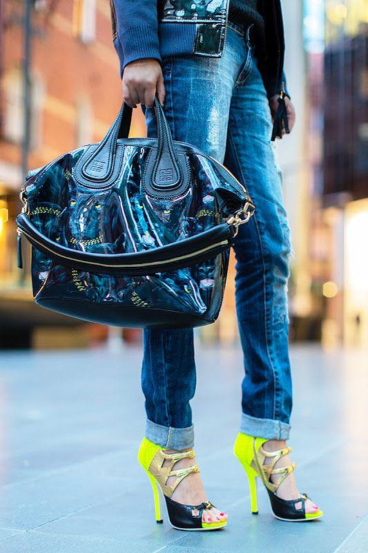 Givenchy Nightingale Tote Bag & Miu Miu shoes