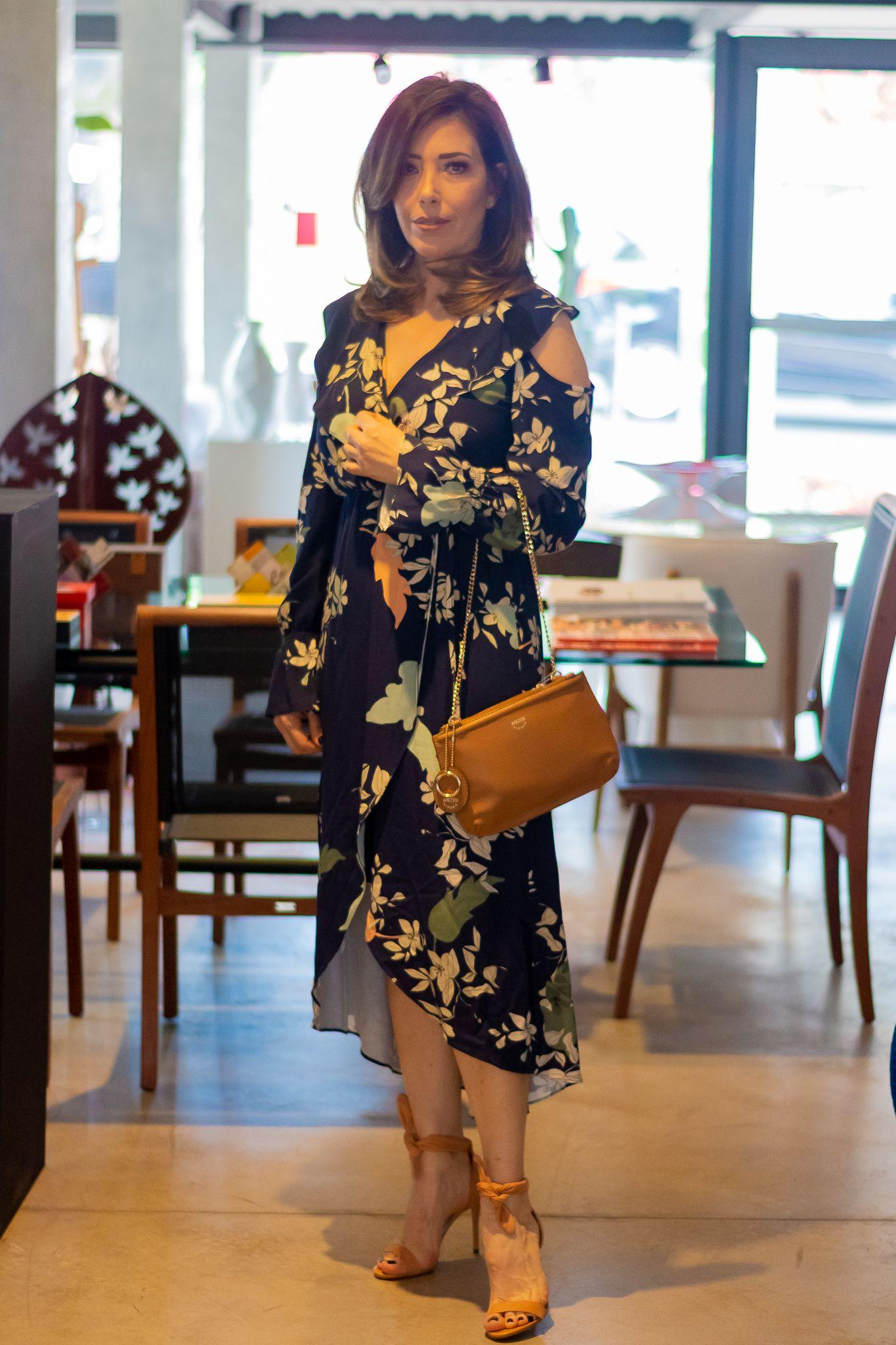 bb25ae294 Meu look: Vestido estampa floral Sandalia Isabelli | Meus looks ...