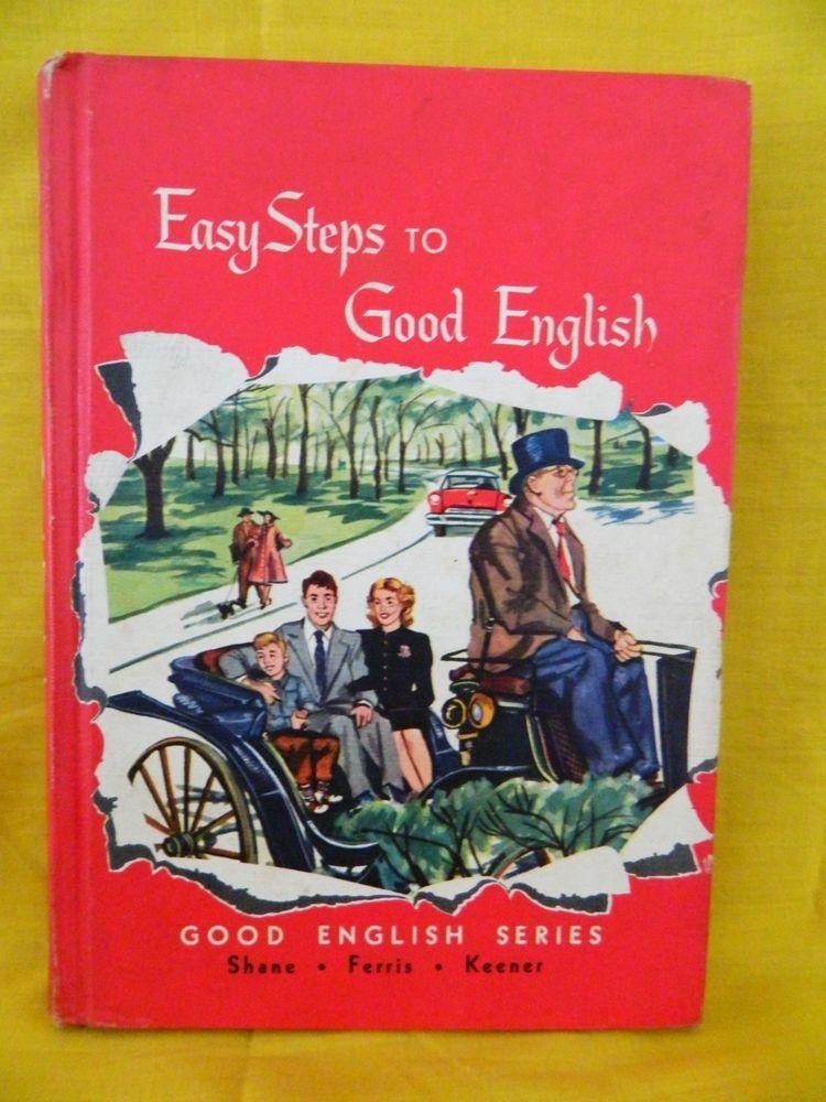 Easy Steps to Good English, Vintage English, Grade 3, Laidlaw Brothers HB