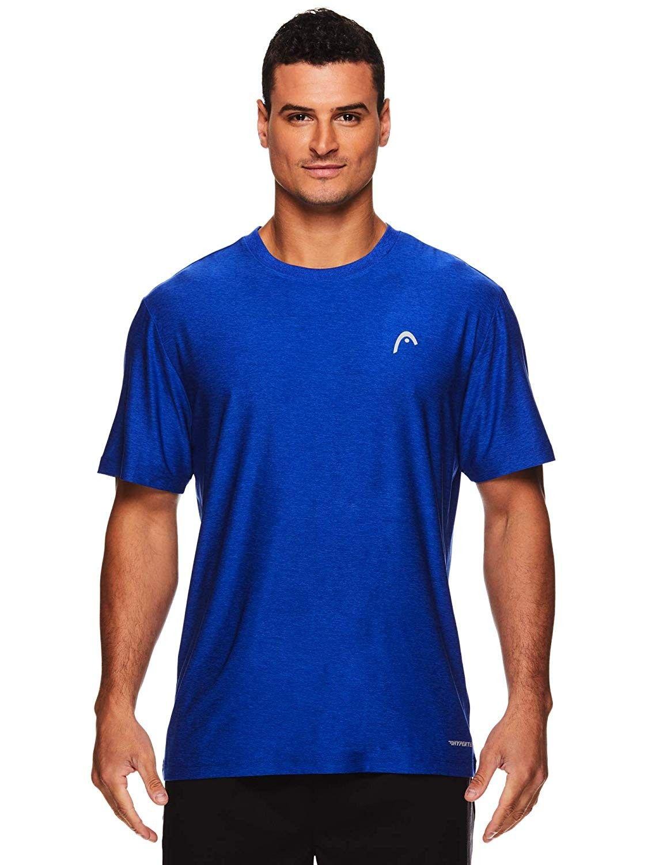 Men's Hypertek Crewneck Gym Tennis & Workout TShirt