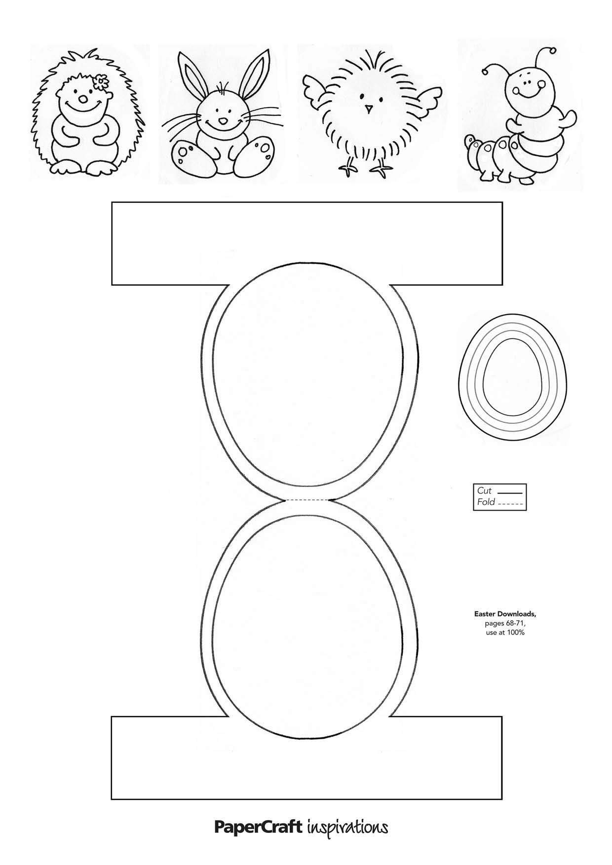 It's just a graphic of Clever Printable Templates for Crafts