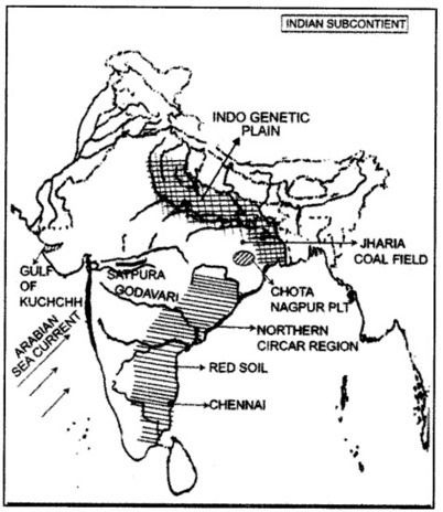 ICSE Geography Question Paper 2013 Solved for Class 10