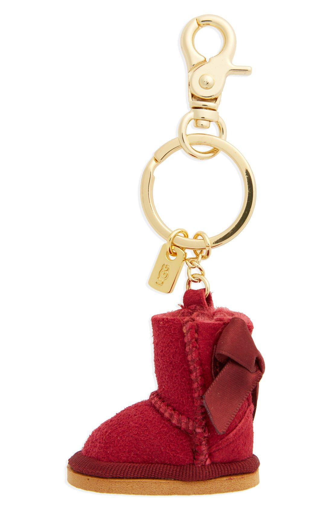 this adorable ugg keychain will be the perfect stocking stuffer rh pinterest com