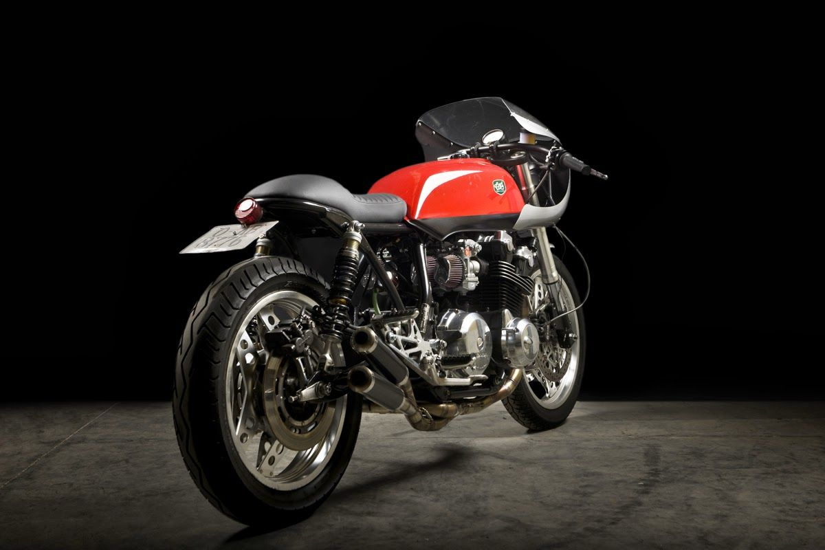 Honda cb900f by cafe racer dreams via bike exif