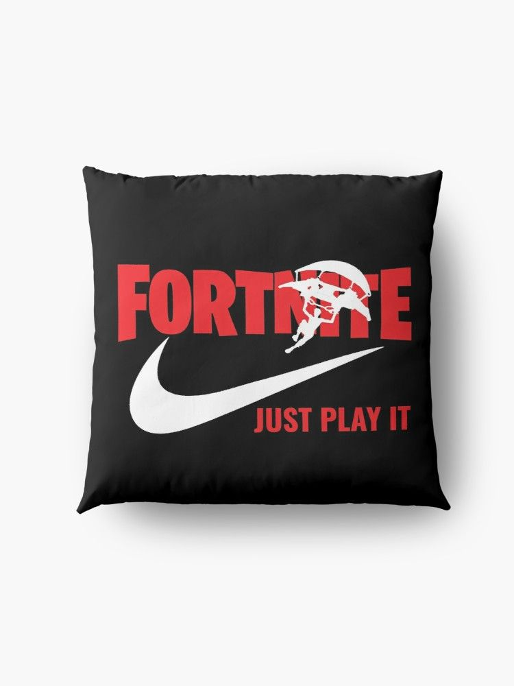 Floor Pillow Fortnite Just Play It Fortnite Gaming T Shirt