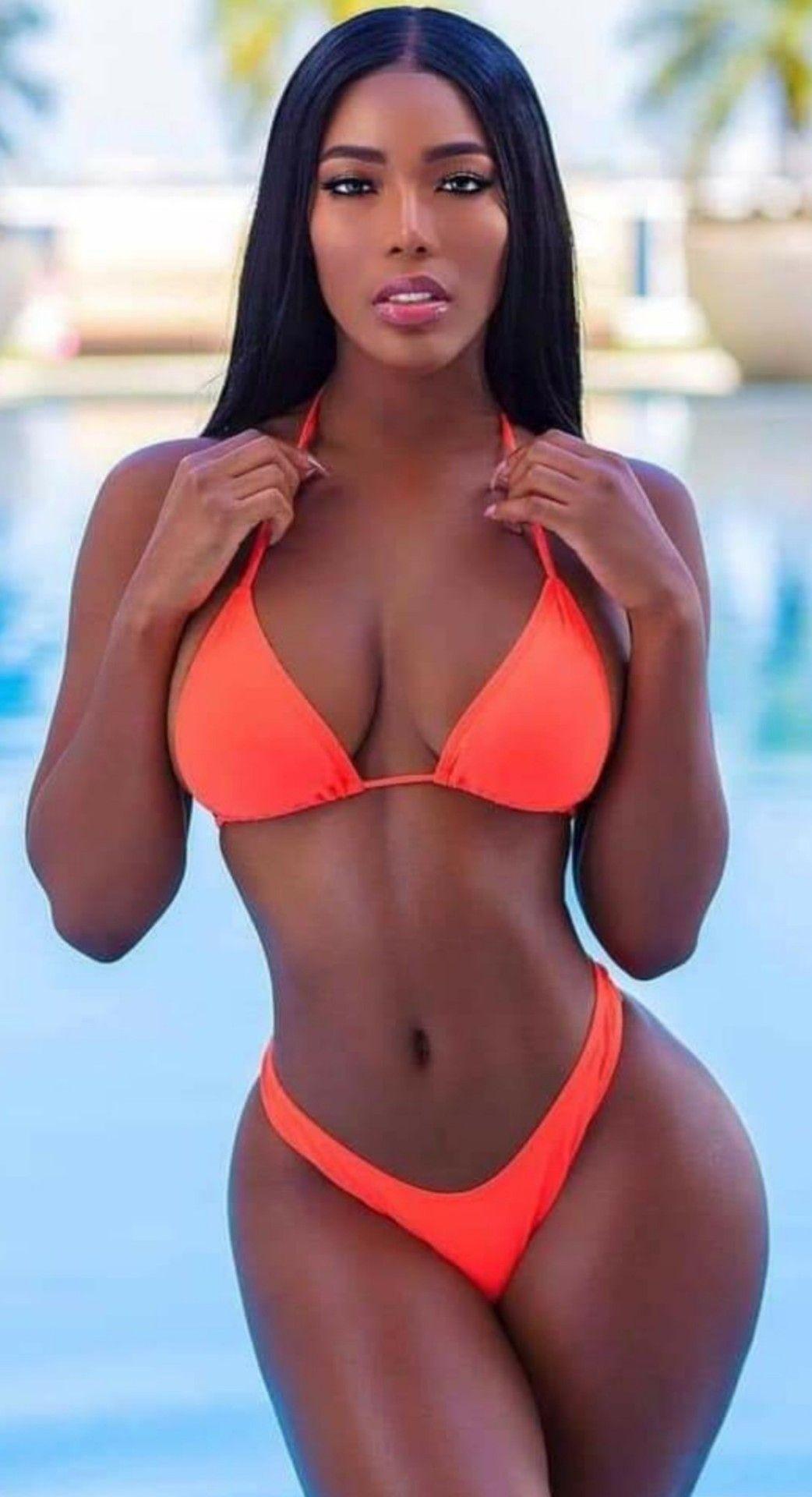 Ebony Girl Bikini