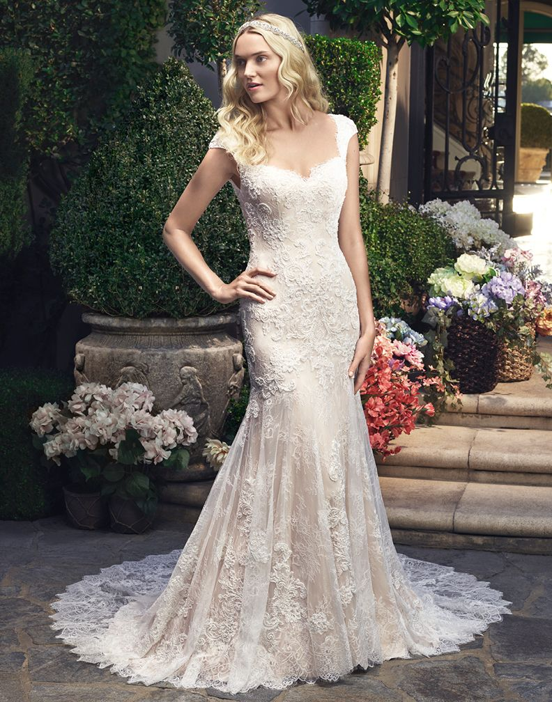 Style2215 From Casablancas Newest Season Will Blow You Away The - Casa Blanca Wedding Dresses