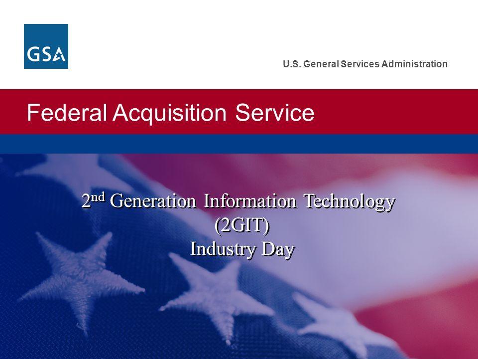 gsa  air force open bidding for  5 5billion 2nd generation