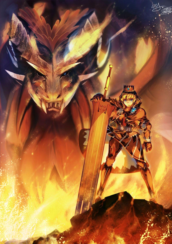 Teostra Armor Monster Hunter Series Monster Hunter Art Monster