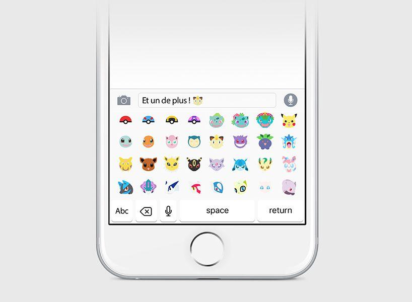 pokémoji keyboard brings emoticon pokémon to your