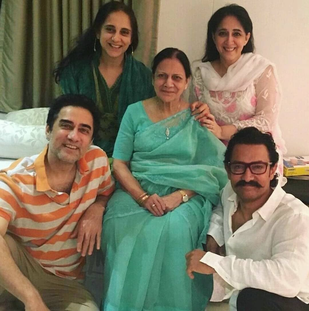 Happy Mother's Day Celebrations for Aamir Khan and his family ...