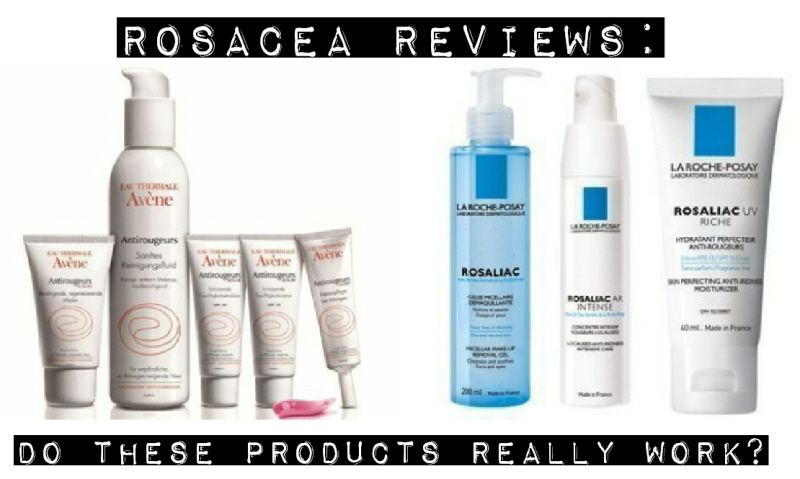 Rosacea Reviews Avene Antirougeurs La Roche Posay Rosaliac Rosacea Skin Care Avene Antirougeurs Rosacea