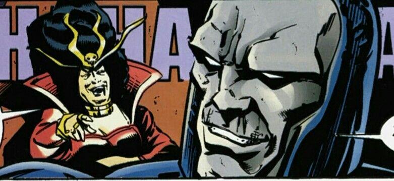 Darkseid and Heggra