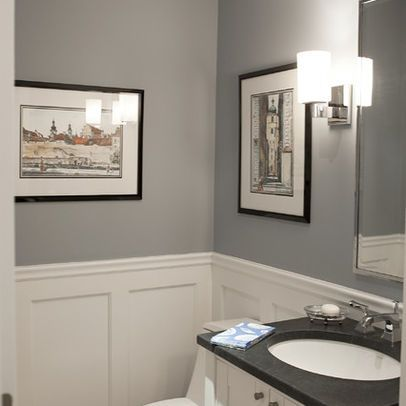 Wainscoting Powder Room Design Ideas Pictures Remodel And Decor